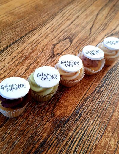 Cupcakes pour les galeries lafayette