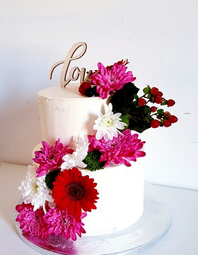Gâteau personnalisé mariage Love