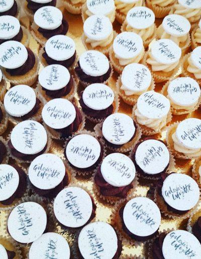 Cupcakes personnalisés pour évènement entreprise Galleries lafayette