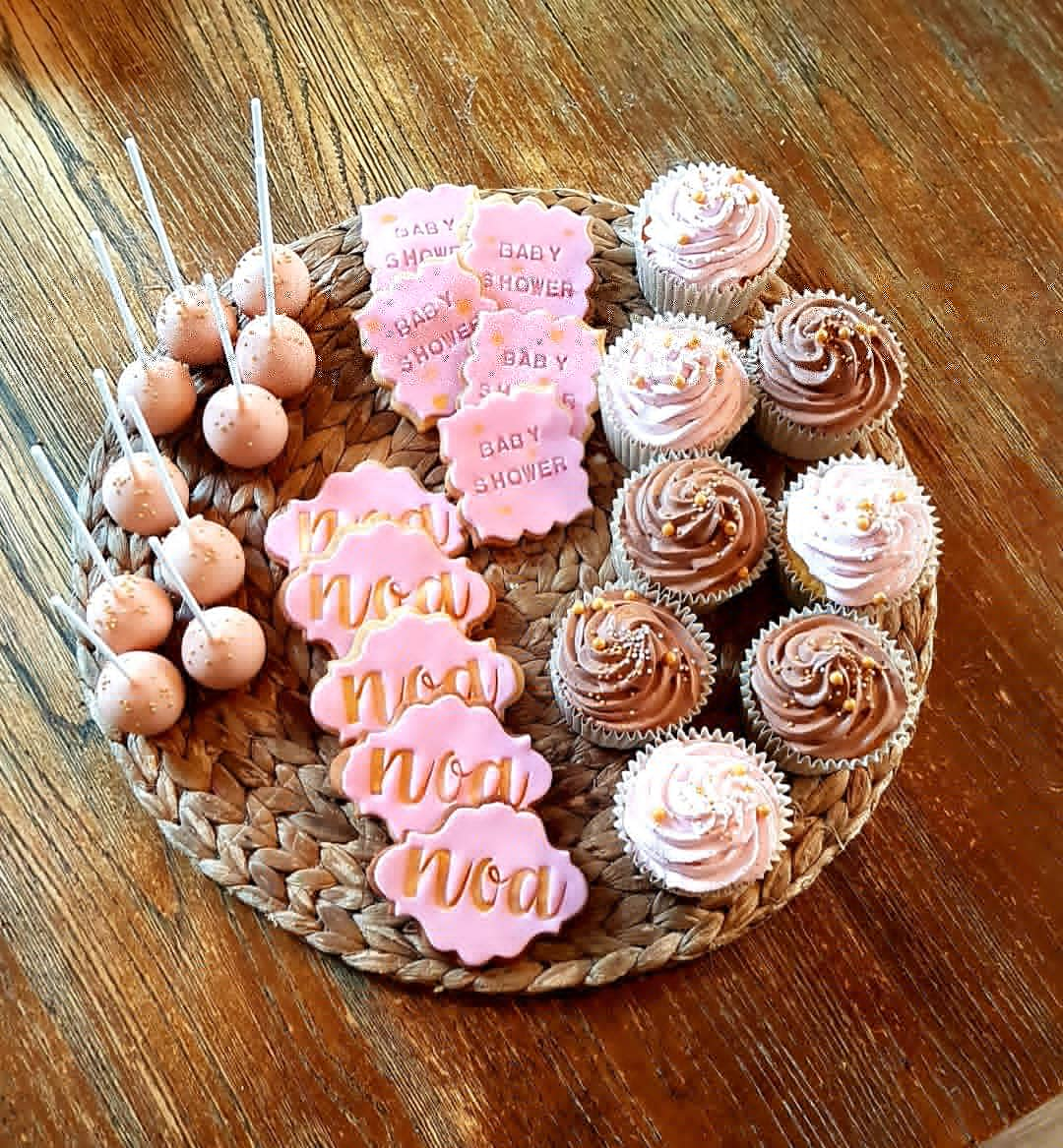 Popcakes, sablés et cupcakes anniversaire noa