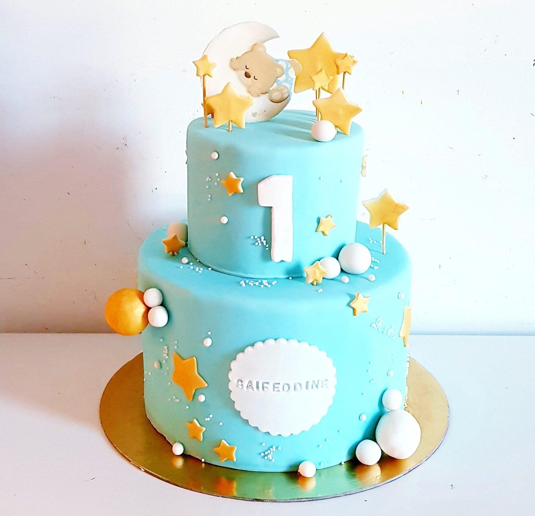 Gâteau d'anniversaire 1 an saifeddine