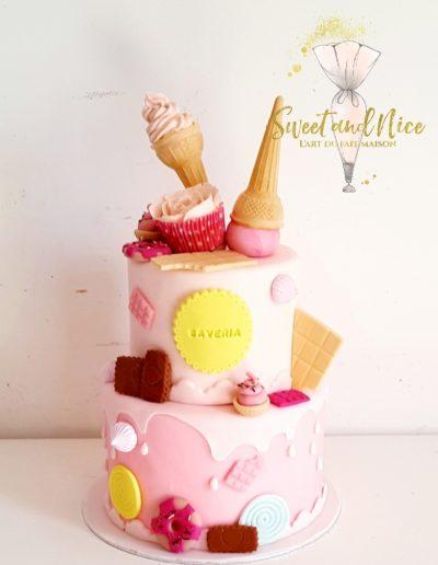 Gâteau design pour saveria