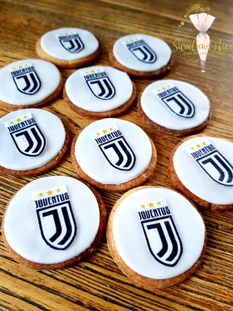 Sablés Juventus pour évènement d'entreprise