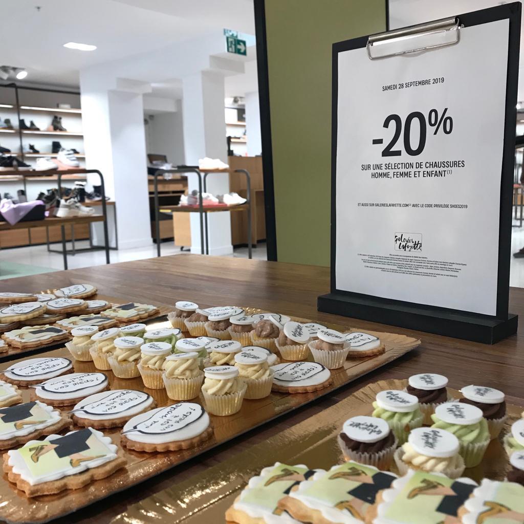 Promotion Gateau Design Galeries lafayette