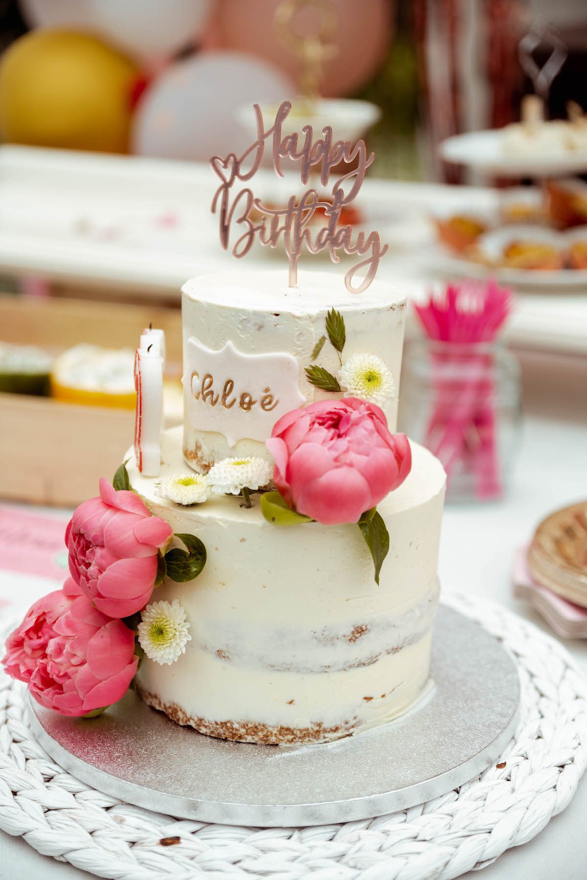 Cake Design Sweet and nice chloé anniversaire